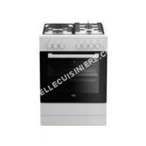 cuisinière BEKO Cuisinière mixte 60 cm  FSS63110DWCS