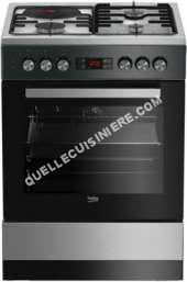 cuisinière BEKO Cuisinière mixte FSE63321DXCS