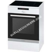 cuisinière BOSCH  hca857320f cuisinière électrique 66l 4 feux inductions bla serie 6