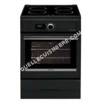 cuisinière BRANDT BCI6656A  Cuisinière table induction4 foyers9275 kWFour électriquePyrolyse57LAL60xH85mNoir