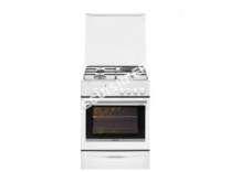 cuisinière BRANDT BCM6651W  Cuisinière  pose libre  largeur  60 cm  profondeur  61.8 cm  hauteur  85 cm  avec système autonettoyant  blanc