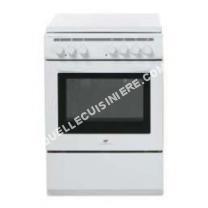 cuisinière CONTINENTAL EDISON  CECM6060MW2 Cuisinière 60*60