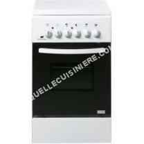 cuisinière CONTINENTAL EDISON  Edison CEFM5060SC2 Cuisinière table mixte gaz / electrique-4 foyers- Four électrique-Net manuel-50L-A-L50 x H86cm-Bla