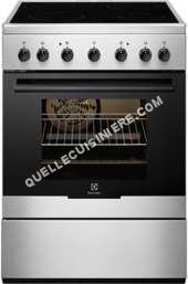 cuisinière ELECTROLUX Cuisinière vitrocéramique Electrolux EKC61360 OX