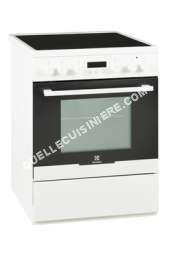 cuisinière ELECTROLUX Cuisinière vitrocéramique Electrolux EKC66700OW