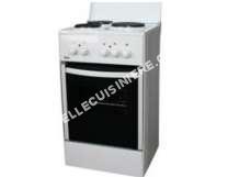 cuisinière ESCO cuisinière électrique 4l  feux blanc  vs5515bca