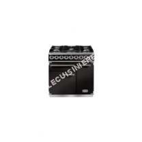 cuisinière FALCON PKR 900 Deluxe Dual Fuel  cuisinière  pose libre  noir brillant