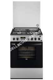 cuisinière FAURE FM6560PSA  uisinière  pose libre  largeur  60 cm  profondeur  60 cm  hauteur  85.5 cm  avec système autonettoyant  argenté(e)