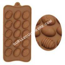 cuisinière Non communiqué TEMPSA Moule de Chocolat en Silicone Forme de Oeuf de Pâques