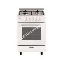 cuisinière GLEM GAS Gas  lpha G550GWH  Cuisinière  pose libre  largeur  53 cm  profondeur  50 cm  hauteur  88.5 cm  Blanc/inox