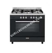 cuisinière GLEM GAS Gas  eCooker GE960CMK  Cuisinière  pose libre  largeur : 90 cm  profondeur : 60 cm  hauteur : 91 cm  avec système autonettoyant  classe   lack