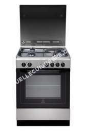 cuisinière INDESIT Full Glss I6M6CAG(X)/FR  cuisinière  pose libre  inox