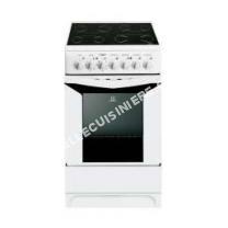 cuisinière INDESIT K3C51WFRS  Cuisinière table vitrocéramique4 zones7900WFour électriqueCatalyse54LCL50xH85cmBlanc