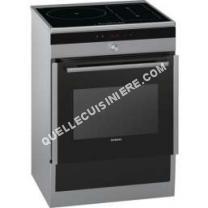 cuisinière SIEMENS cuisinière électrique  66l  foyers induction inox  h857580f