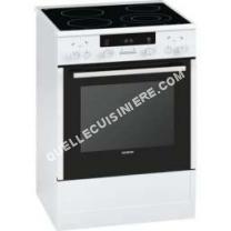 cuisiniere vitroceramique siemens a84220f cuisini re vitroc ramique 60cm 66l pyrolyse blanc. Black Bedroom Furniture Sets. Home Design Ideas