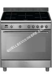 cuisinière SMEG Piano de cuisson ESTHETIQUE CLASSICA 90cm INDUCTION INOX - CG90IX9
