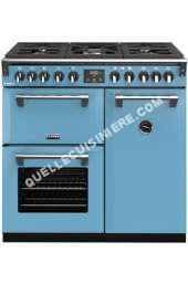 cuisinière STOVES RICHMOND DELUXE 90CM GAZ BLEU AZUR  PRICHDX90DFBLA Piano de cuisson  RICHMOND DELUXE 90CM GAZ BLEU AZUR  PRICHDX90DFBLA