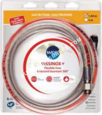 cuisinière WPRO WproTuyaux gaz Wpro BUT/PRO raccord rotatif inox illimité