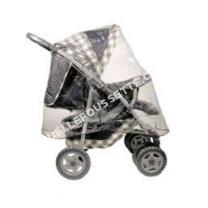 poussette BAMBISOL SR001Habillage pluie poussette 4 roues Universel