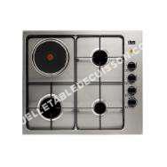 table de cuisson FAURE Table de cuisson mixte FGM62444XA 58 cm 3 foyers gaz   foyer électrique