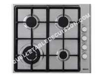 table de cuisson BEKO IZG 6121 SX  Table de cuisson au gaz   plaques de cuisson  Niche  largeur  56 cm  profondeur   cm  acier inoydable