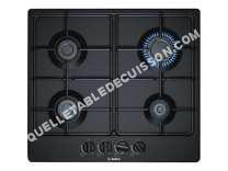table de cuisson BOSCH Serie  PGP6B6B0  Table de cuisson au gaz   plaques de cuisson  Niche  largeur  56 cm  profondeur   cm  noir  avec garnitures noires  noir