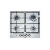 table de cuisson BOSCH C6AB80 Table de cuisson gaz  4 foyers  700 W  L 8, x   cm  Revêtement acier inox  Inox