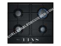 table de cuisson BOSCH Serie 6 PCP6A6B0  Table de cuisson au gaz   plaques de cuisson  Niche  largeur  56 cm  profondeur   cm  noir