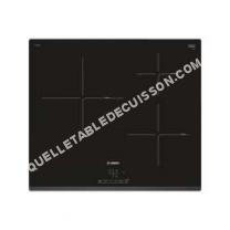table de cuisson BOSCH Table induction  PUJ631BB1E Noir