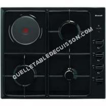 table de cuisson BRANDT Table de cuisson mixte encastrable  Te1417B