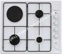 table de cuisson CALIFORNIA TCT6202   Table de cuisson  Plaques mixtes (Gaz et electrique)
