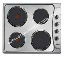 table de cuisson CANDY PLE6X  Table de cuisson électrique   plaques de cuisson  Niche  largeur  56 cm  profondeur   cm  acier inoxydable