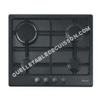 table de cuisson CANDY PLine CPG 6 S PN  Table de cuisson au gaz   plaques de cuisson  Niche  largeur  56 cm  profondeur   cm  noir  noir