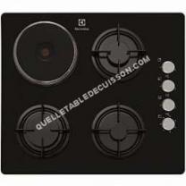 table de cuisson ELECTROLUX EGL6082NOK
