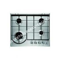 table de cuisson ELECTROLUX EGH622BOK  Table de cuisson au gaz   plaques de cuisson  Niche  largeur  56 cm  profondeur   cm  avec cadre biseauté  noir