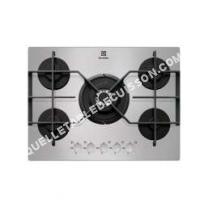 table de cuisson ELECTROLUX EGT733YOX  Table de cuisson au gaz   plaques de cuisson  Niche  largeur   cm  profondeur  48 cm  argent  acier inoxydable
