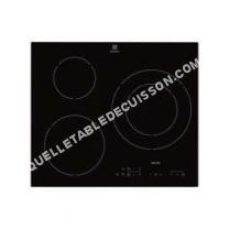 table de cuisson ELECTROLUX E62I9K1  Table de cuisson à induction   plaques de cuisson  Niche  largeur  56 cm  profondeur  49 cm  noir