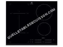 table de cuisson ELECTROLUX EHI650FHK  Table de cuisson à induction   plaques de cuisson  Niche  largeur  56 cm  profondeur   cm  noir  avec avant biseauté
