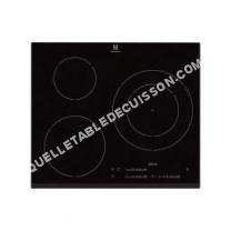 table de cuisson ELECTROLUX EHM652FHK  Table de cuisson à induction   plaques de cuisson  Niche  largeur  56 cm  profondeur  49 cm  avec avant biseauté
