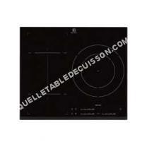 table de cuisson ELECTROLUX EHN652FHK  Table de cuisson à induction   plaques de cuisson  Niche  largeur  56 cm  profondeur  49 cm  avec avant biseauté  noir