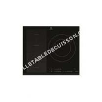 table de cuisson ELECTROLUX EHX3FHK  Table de cuisson à induction   plaques de cuisson  Niche  largeur   cm  profondeur  49 cm  avec avant biseauté  noir