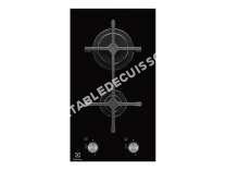 table de cuisson ELECTROLUX EGC33NVK  Table de cuisson au gaz   plaques de cuisson  Niche  largeur   cm  profondeur  49 cm  noir  noir