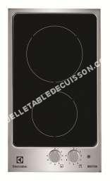 table de cuisson ELECTROLUX EHH390IOX  Table de cuisson à induction   plaques de cuisson  Niche  largeur   cm  profondeur  49 cm  avec garnitures en acier inoxydable