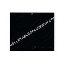 table de cuisson ELECTROLUX Table de cuisson à induction  7200W   foyers  Noir