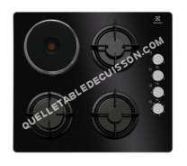 table de cuisson ELECTROLUX Table de cuisson mixte  EGL6082NEK Noir