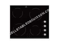 table de cuisson ELECTROLUX Table de cuisson vitrocéramique EHV60FOK, 60 cm,  Foyers