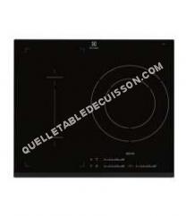 table de cuisson ELECTROLUX E600IFK Plaque induction  foyers noir