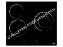 table de cuisson FAR Table de cuisson vitrocéramique  TVS5200A/DC