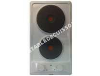 table de cuisson GLEM Gas  GT30WH  Table de cuisson électrique   plaques de cuisson  Niche  largeur  6.5 cm  profondeur  48 cm  blanc