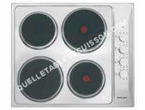 table de cuisson GLEM Gas  GTL60IX  Table de cuisson électrique   plaques de cuisson  Niche  largeur  56 cm  profondeur   cm  acier inoxydable